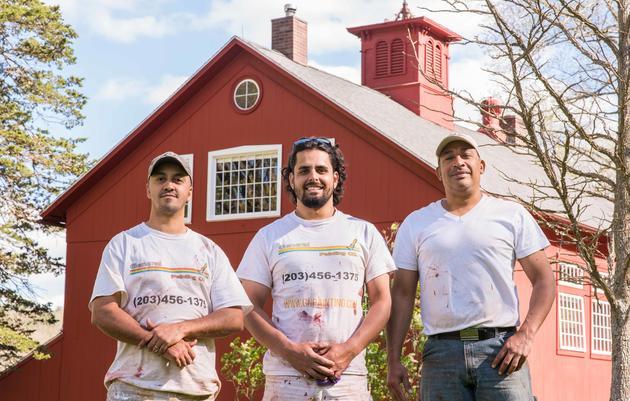 Historic Audubon Barn Receives a Spring Facelift