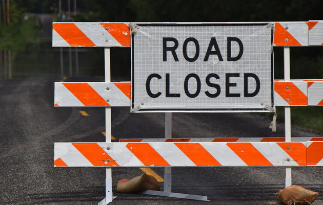 East Flat Hill Road Closure