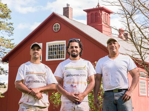 Historic Audubon Barn Receives a Spring Facelift