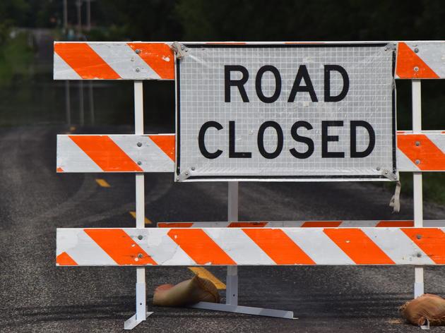 East Flat Hill Road Closure